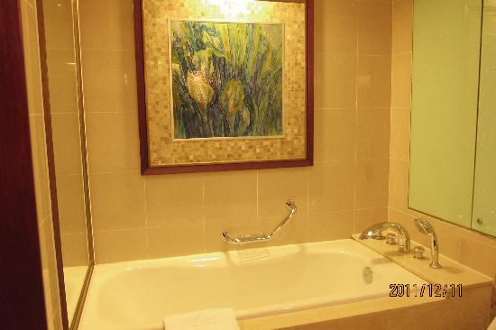Golden Diamond Hotel: Bathtub