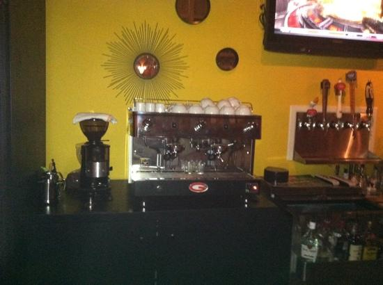 The Hawthorn Grill: Fresh Cappicino & Espresso at The Grill!