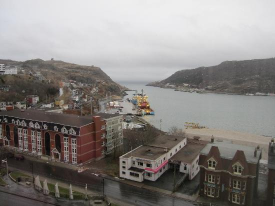 Sheraton Hotel Newfoundland: View from hotel room on floor 6