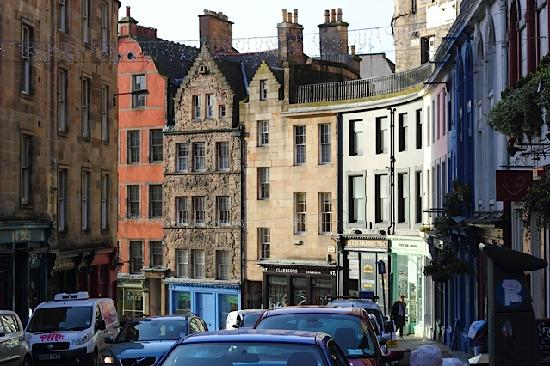 Edinburgh, UK: Near the Grassmarket