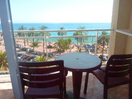 Rosamar Maritim: terrasse de la chambre