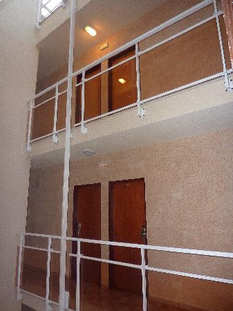 Rosamar Maritim: couloir de l'hotel