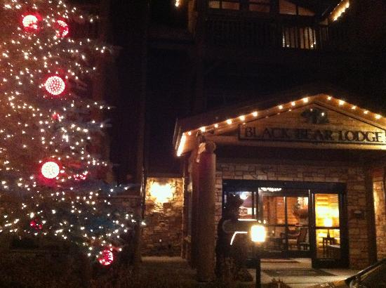 Black Bear Lodge: Gorgeous at Christmas!