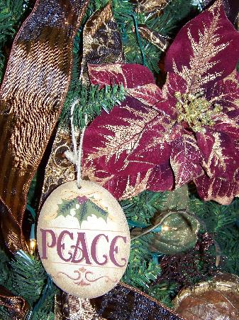 Gathering Place Bed and Breakfast: tree decorations