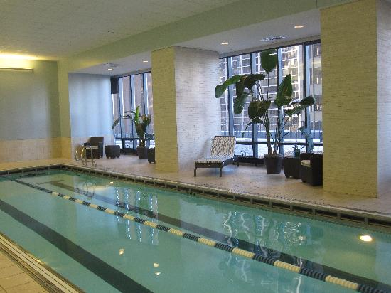 Indoor lap pool - Picture of Radisson Blu Aqua Hotel, Chicago ...