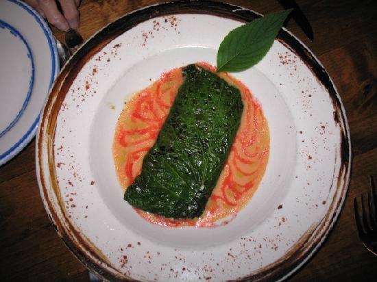 Zocalito Latin Bistro: Herba Santa Leaf