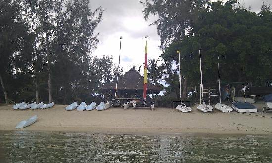 The Oberoi, Mauritius: beach hut - for all your watersporting needs