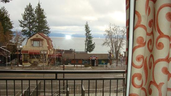 Pepper Tree Inn: View from our window