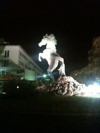 Talayot: Cittuadella at night