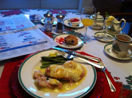 إقامة وإفطار بفندق ذا ستون هيدج: Breakfast at Stone Hedge B&B