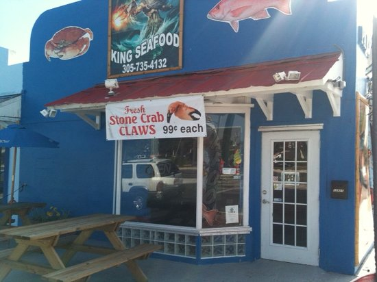 KING Seafood Market & Restaurant: Now you know what it looks like.