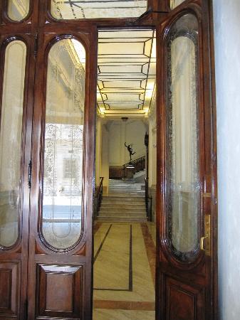 Dipendenza Hotel Smeraldo: Lobby at Hotel Smeraldo (Diependza lobby as well)