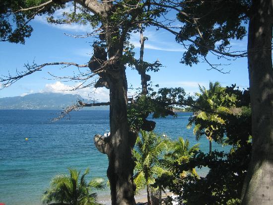 Hotel Bois Joli: Vue de notre terrasse