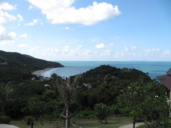 Baan KanTiang See Villa Resort (2 bedroom villas): Blick von der Terrasse