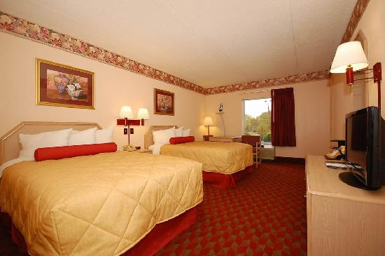 Ramada Murfreesboro: Two Double Bed's Room