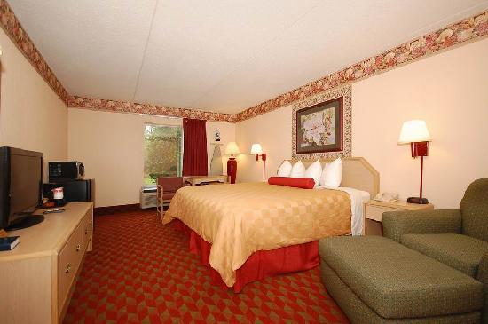 رمادا مورفريسبورو: One King Bed Room