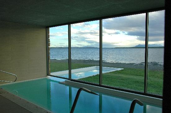 The Singular Patagonia: Vista de la piscina