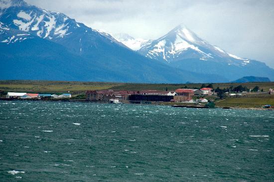 The Singular Patagonia: Vista panoramica del hotel