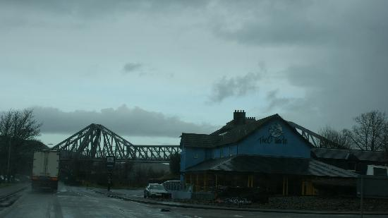 The Oyster Inn and Connel Bridge