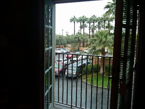 Royal Palms Resort and Spa: View from my room - I wish I could add sound