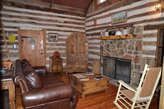 Cotton Gin Village: another view of living area