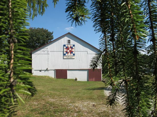 Wilmington, OH: Barn Quilt, Clinton County, Ohio