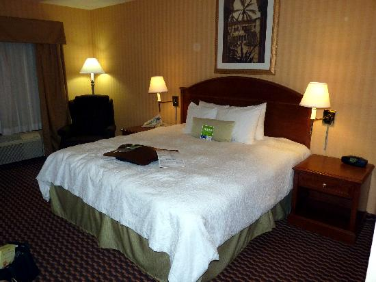 Hampton Inn & Suites Sacramento-Cal Expo: Room number 219