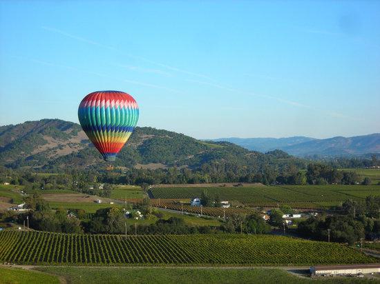 Napa Valley Aloft Balloon Rides: Light up the Sunrise