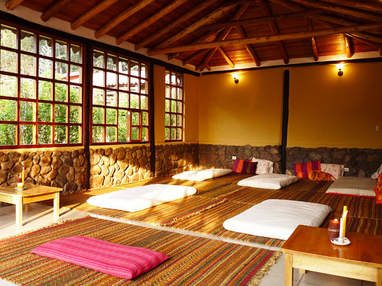 Casa Colibri eco-Lodge: meditation hall