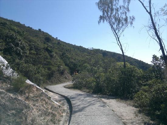 Sai kung East Country Park : Tai Long Wan hiking trail - start from Sai Wan Pavilion