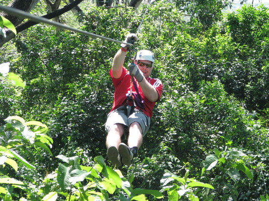 Cartagena Canopy Tour & Zip line fun - Review of Cartagena Canopy Tour Tamarindo Costa ...