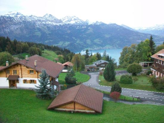 Alphotel Eiger : View from front balcony