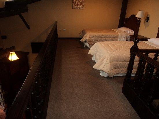 Hotel San Juan : habitación desde arriba