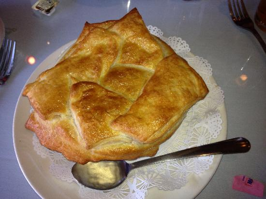 Great Escape: Chicken pot pie