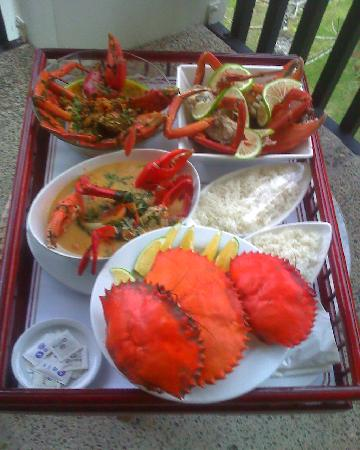 The Warwick Fiji: mmmmmmm Mud Crab :)