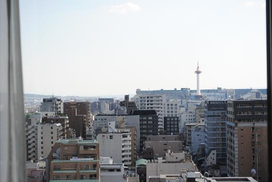 Hotel Nikko Princess Kyoto: 南側の客室からの景観
