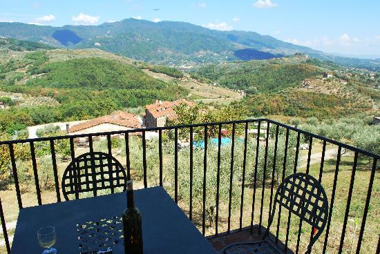 Hotel Villa Volpi: private suite on the hill