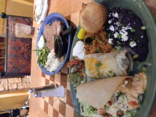 The Garden Grill : Huge satisfying portions