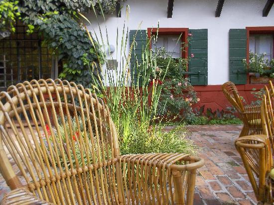 Quattro Fontane Hotel: le jardin