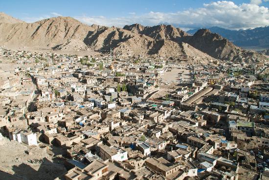 Leh Royal Palace: View from Ancient Palace