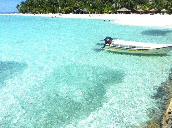 Alimathaa Island: la spiaggia