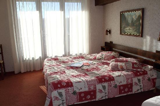 Le Tetras: La chambre