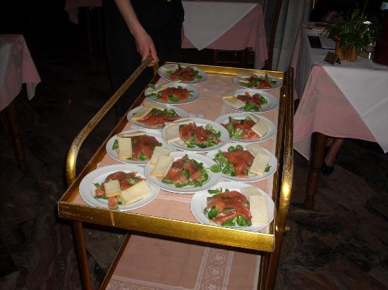 Igea Suisse Hotel Terme: ottimo menù