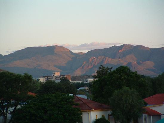 Rivendell Guest House : The view across Windhoek