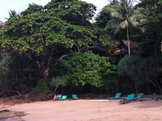 Narima Bungalow Resort: dal mare