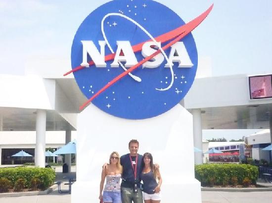 NASA GSFC Visitor Center: entrada de la Nasa
