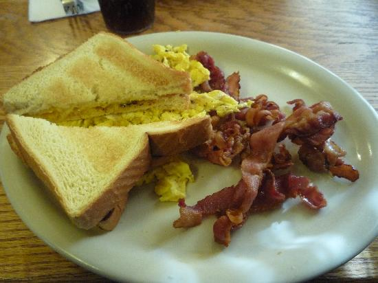 Phillips Diner: this delicious breakfast was around $5