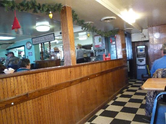 Phillips Diner: inside view