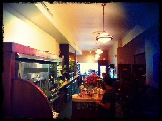 The Senator Restaurant: Blick nach Draußen