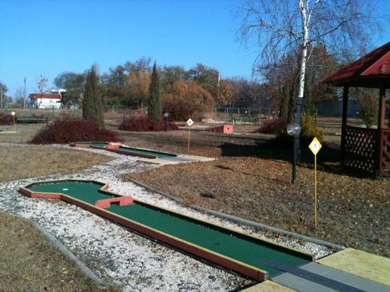 Chabanka  Health Complex: мини гольф